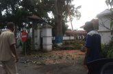 DLH Kotamobagu, Potong Batang Pohon di Depan Rudis Wali Kota.