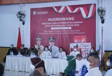 Pemerintah Kotamobagu Gelar Musrenbang RKPD Tahun Anggaran 2022