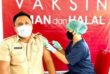 Vaksinisasi Serentak Digelar Oleh Pemkot, Untuk THL, ASN dan Wartawan.