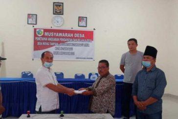 APBDes 2021 Moyag Tampoan Resmi Ditetapkan