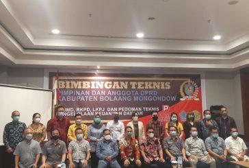 Tingkatkan Kinerja Tugas dan Fungsi Pengawasan Aleg, Sekertariat DPRD Bolmong Gelar Bimtek