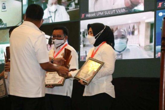 Lagi, Wali Kota Terima Penghargaan Pembangunan Daerah.