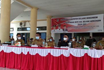 Pemkab Bolmong Gelar Musrenbang RKPD Tahun 2022