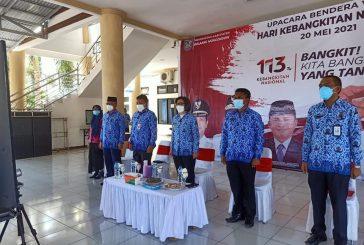 Peringati HKN Pemkab Bolmong Dengarkan Arahan Presiden RI Tentang Peluncuran Literasi Digital Nasional