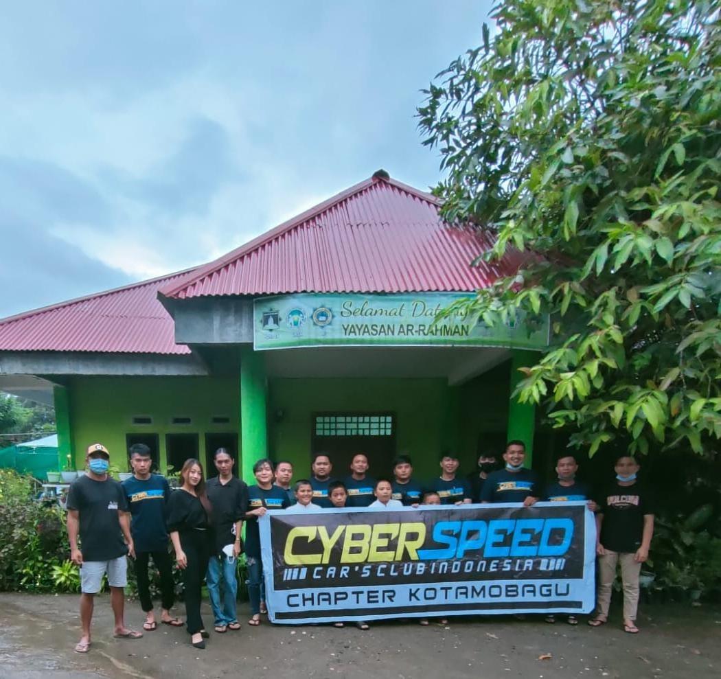 Tingkatkan Semangat Berbagi, Cyber Speed Chapter Kotamobagu Buka Puasa Bareng Anak Yatim