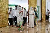 Yasti Hadiri Peresmian Masjid Agung Baitul Makmur Kotamobagu