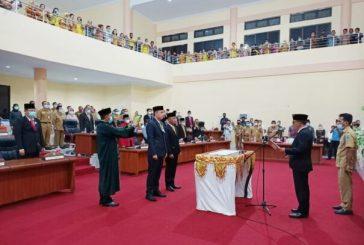 Ketua DPRD Bolmong Lantik Dua Aleg PAW Masa Jabtan 2019 - 2024