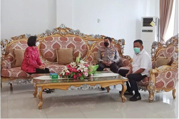 Yasti Sambut Kunker Gubernur dan Unsur Forkopimda Sulut Dalam Pemantauan Pos Terpadu Lebaran 2021