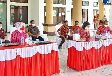 Yasty Gelar Rakor Bersama Camat dan Kepala Desa Se-Bolmong