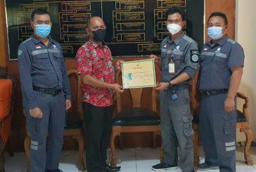 PT. PP (Persero), Tbk. Proyek Bendungan Lolak Raih Penghargaan Zero Accident Tingkat Nasional