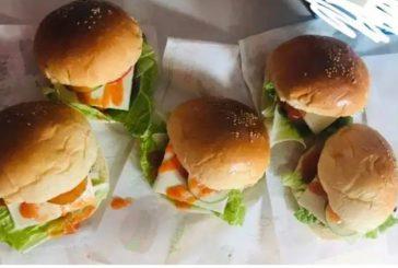 Gita Damopolii Olah Bisnis Burger.