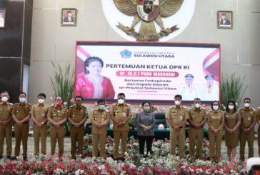 Sambangi Kantor Gubernur Sulut,Bupati Bolmong Hadiri Pertemuan Bersama Ketua DPR RI