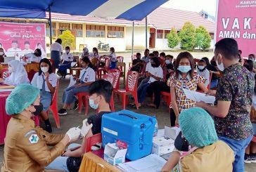 Pemkab Bolmong Gelar Vaksinasi Untuk Anak Umur 12-17 Tahun