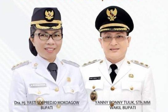 Ditangan Yasty -Yanni Peningkatan Infrastruktur Kabupaten Bolmong Kian Mantap