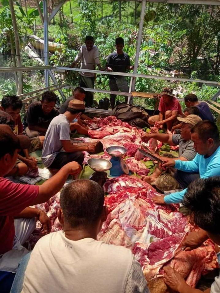 302 Ekor Hewan Kurban Disembelih di Bolmong