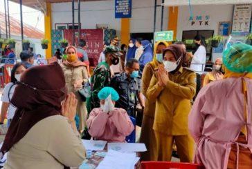 Wali Kota dan Forkopimda Tinjau 4 Lokasi Percepatan Vaksinasi.