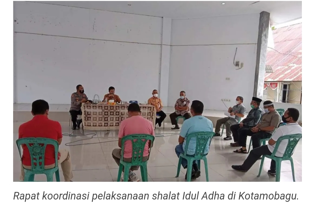 Pemkot Bahas Pelaksanaan Idul Adha Bersama Kemenag, MUI, PHBI dan Polres.