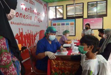 120 Anak Usia 12-17 Tahun, Jalani suntik Vaksin.