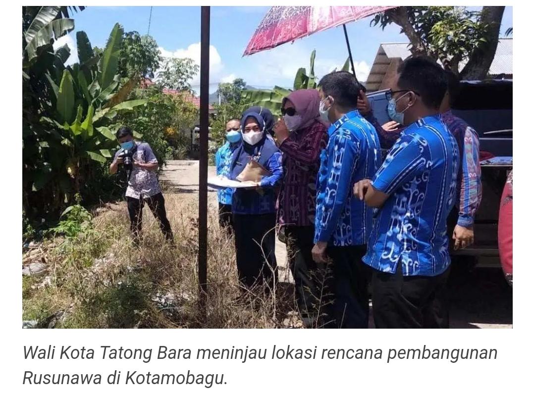 Wali Kota Tinjau Dua Lokasi Rencana Pembangunan Rusunawa.
