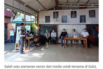 Bersama Wartawan, Wali Kota Paparkan Program Kerja dan Potensi Pertanian Kotamobagu.
