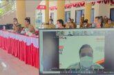 Bersama Jajaran Sekda Bolmong Ikuti Rapat Evaluasi SAKIP Dengan Kemenpan-RB