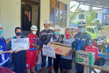 PT. PP Berikan Bantuan Pada Warga Terdampak Bencana Alam Banjir  Bandang