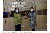 Kotamobagu Raih Penghargaan Anugerah Parahita Ekapraya dari Kementerian PPPA.