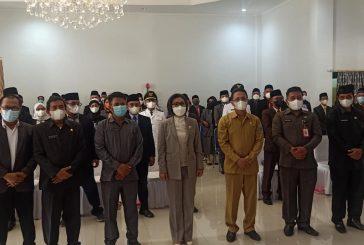 Pemkab Bolmong Gelar Sertijab, Yasti : Para Pejabat Jangan Bersikap Otoriter