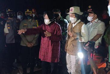 Bupati Bolmong Dampingi Mensos RI Sambangi Korban Bencana Alam Desa Batu Merah