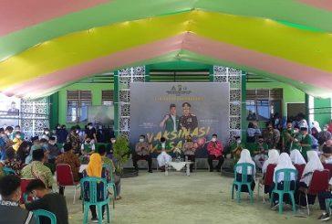 GP Ansor Bolmong Gelar Vaksinasi Massal
